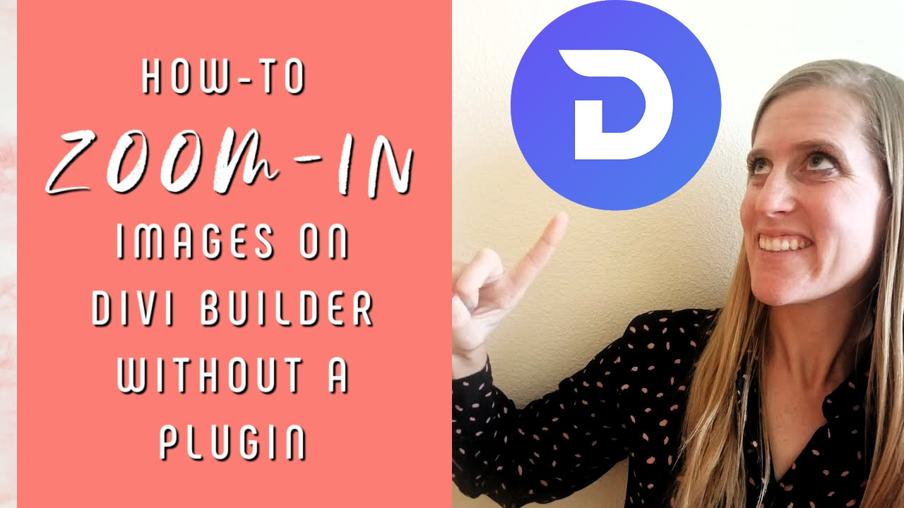 How-to Zoom-In on Divi Builder without a Plugin